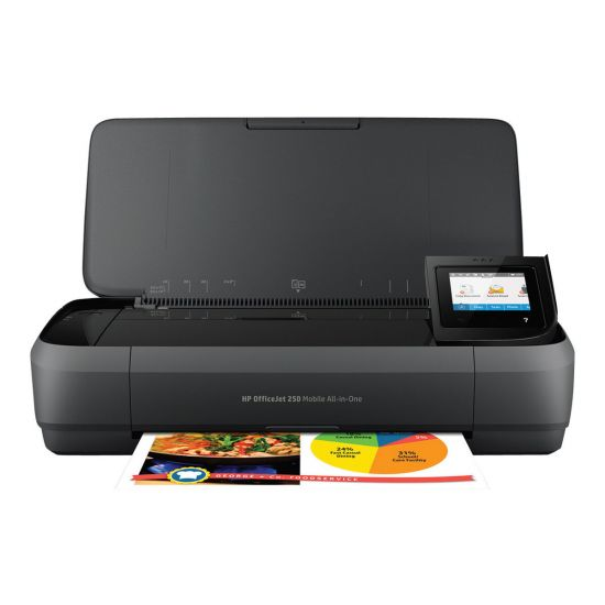 HP Officejet 250 Mobile All-in-One - multifunktionsprinter (farve)