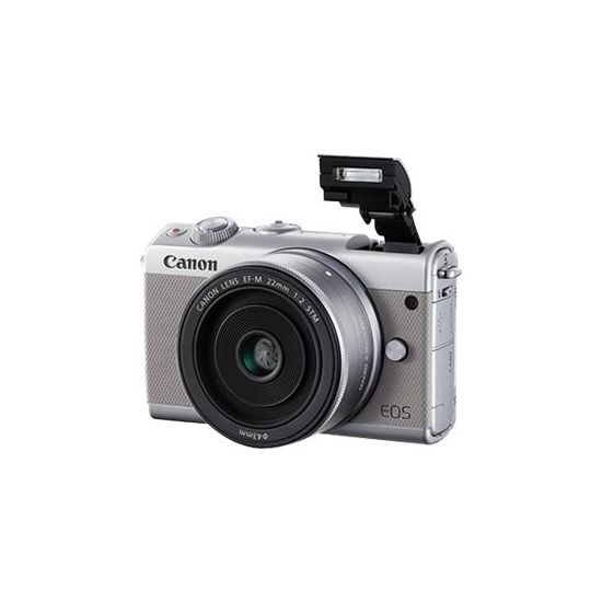 Canon EOS M100 - digitalkamera EF-M 15-45 mm IS objektiv