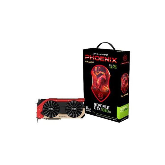 Gainward GeForce GTX 1080 Ti Phoenix &#45 NVIDIA GTX1080Ti &#45 11GB GDDR5X - PCI Express 3.0 x16