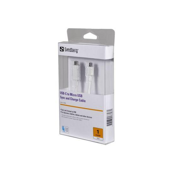 Sandberg USB Type-C kabel - 1 m