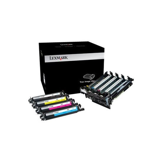 Lexmark Black & Colour Imaging Kit - printer-billedenhed - LCCP
