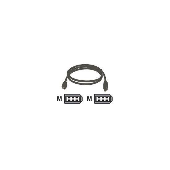 DELTACO IEEE 1394 kabel - 2 m