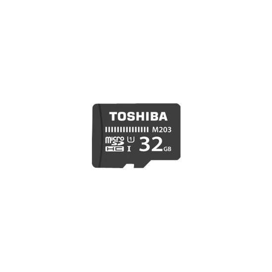 Toshiba M203 - flashhukommelseskort - 32 GB - microSDHC UHS-I