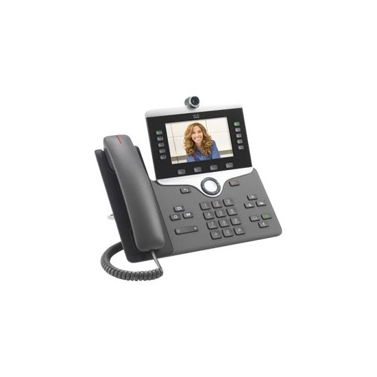 Cisco IP Phone 8845 - IP-videotelefon - digitalkamera, Bluetooth-interface