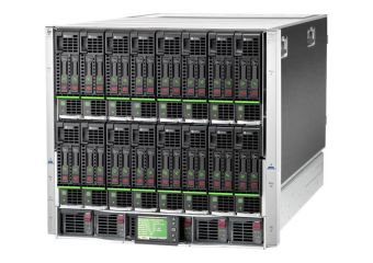 HPE BLc7000 Single-Phase Enclosure w/2 Power Supplies and 4 Fans w/16 Insight Control Environment Licenses