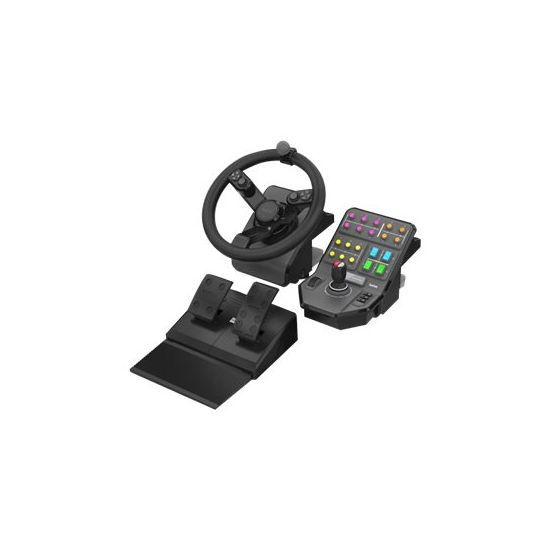 Logitech Heavy Equipment Bundle - Bundle - rat og pedalsæt - kabling