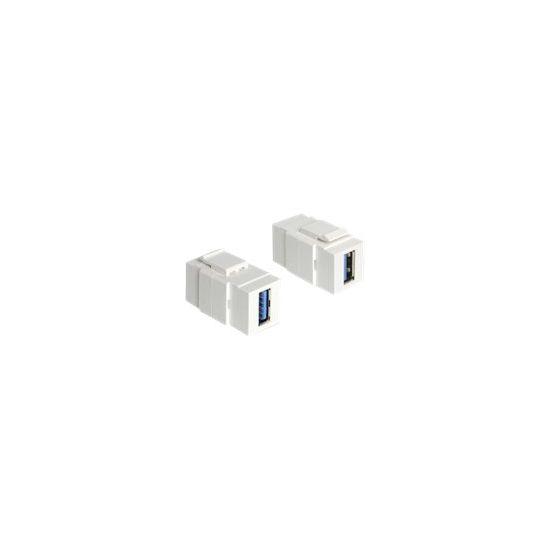 DeLOCK modulært indsætning (kobling)