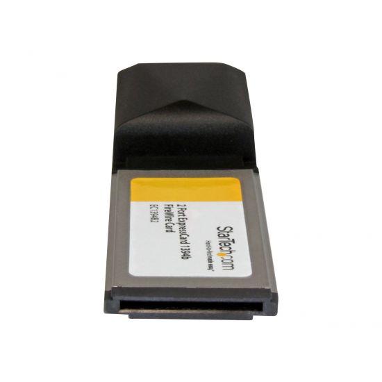 StarTech.com 2 Port ExpressCard 1394b FireWire Laptop Adapter Card - FireWire adapter