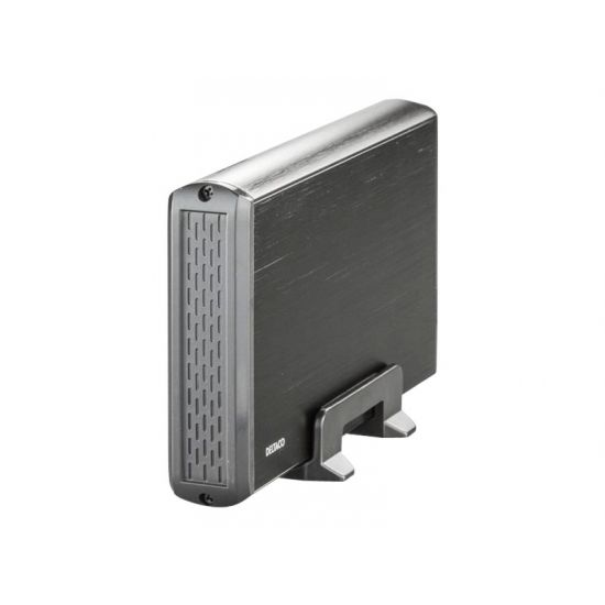 Deltaco MAP-GD33U3 - 3.5´´ SATA Harddiskkabinet USB 3.0 Sort