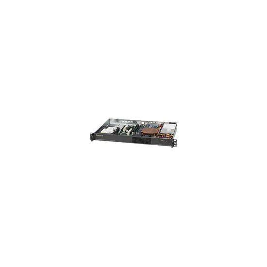 Supermicro SC510 203B - rackversion - 1U - micro-ATX