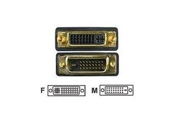 Deltaco DVI forlængerkabel