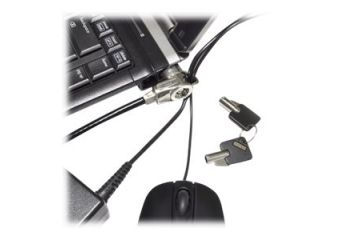 Compulocks Security Slot Cable Lock with Cable Trap