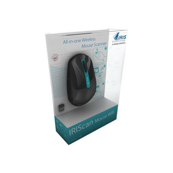 IRIS IRIScan Mouse Wifi - håndholdt scanner - håndmodel - Wi-Fi(n)