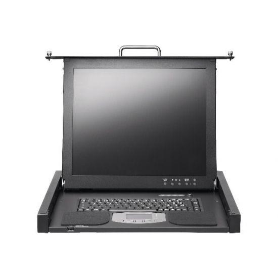 "Fujitsu PRIMERGY Rack Console RC25 - KVM-konsol - 17"""