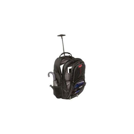 """Verbatim Paris Backpack Roller 17"""" - bæretaske til notebook"""