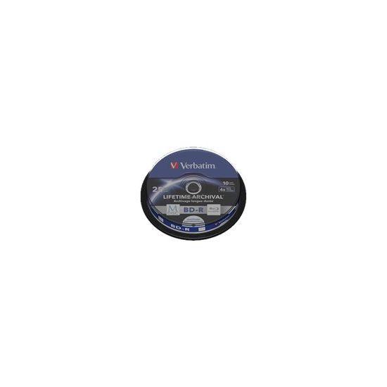 Verbatim M-Disc - BD-R x 10 - 25 GB - lagringsmedie