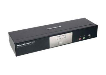 IOGEAR MiniView Dual Link DVI KVMP Pro with 7.1 Audio GCS1782G