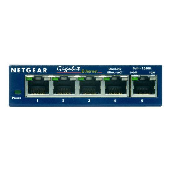 NETGEAR ProSAFE GS105 - switch - 5 porte