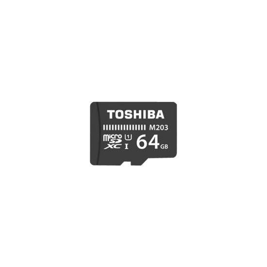 Toshiba M203 - flashhukommelseskort - 64 GB - microSDXC UHS-I