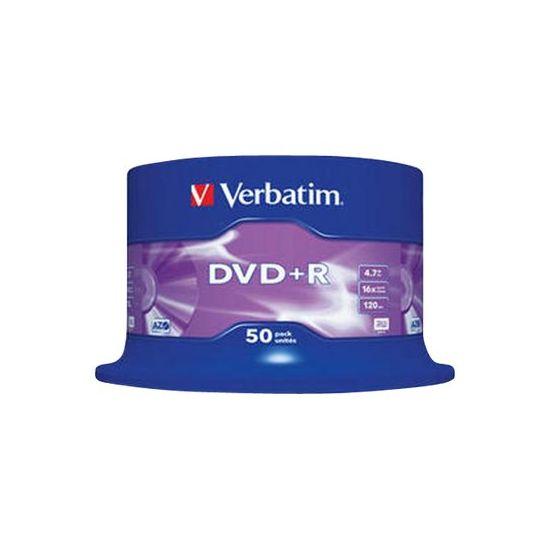 Verbatim - DVD+R x 50 - 4.7 GB - lagringsmedie
