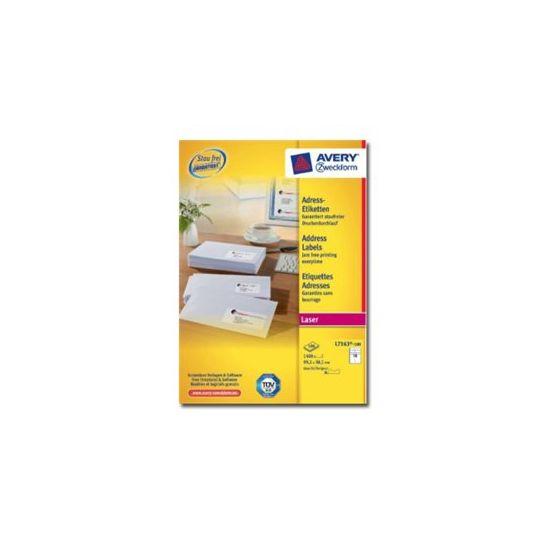 Avery - adresseetiketter - 1400 etikette(r)