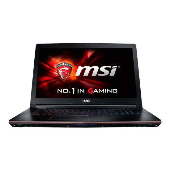 MSI GE72MVR 7RG 004NE Apache Pro - Intel Core i7 7700HQ / 2.8 GHz - 16 GB DDR4 - 256 GB SSD M.2 + 1 TB HDD - NVIDIA GeForce GTX 1070 8GB GDDR5 - 17.3""