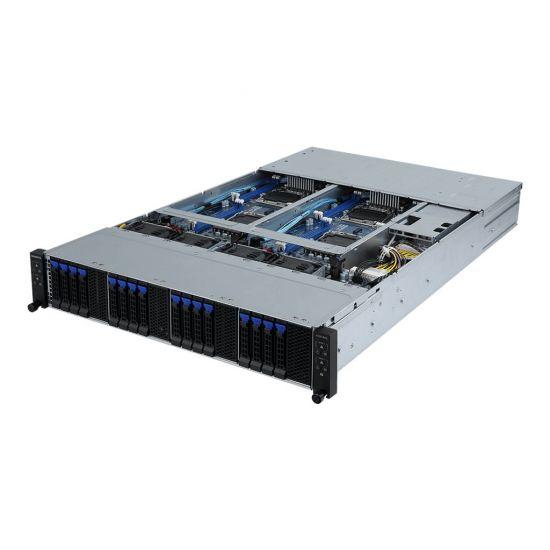 Gigabyte H230-R4G (rev. 100) - rack-monterbar - uden CPU - 0 GB - 0 GB
