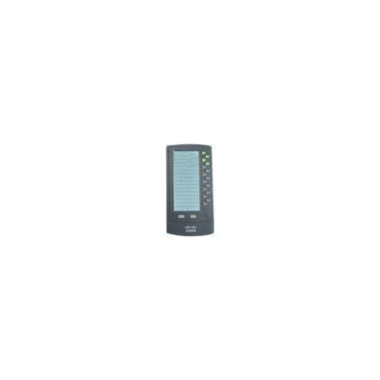 Cisco Small Business SPA500DS 15-Button Attendant Console - modul til forøgelse af taster