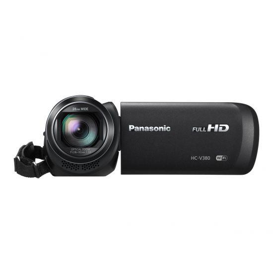 Panasonic HC-V380 - Videokamera - lagring: flashkort