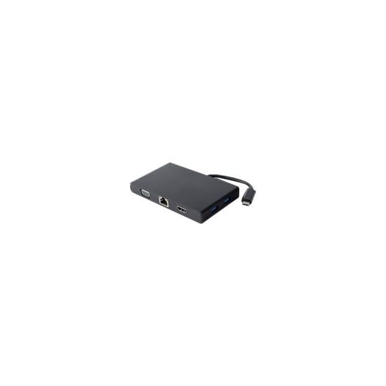 Deltaco USBC-1269 - dockingstation USB-C til VGA+HDMI
