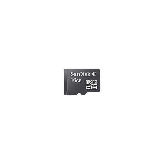 SanDisk - flashhukommelseskort - 16 GB - microSDHC