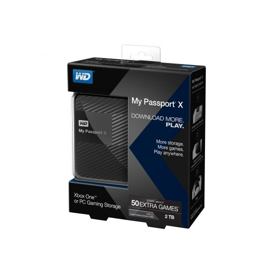 WD My Passport X WDBCRM0020BBK &#45 2TB