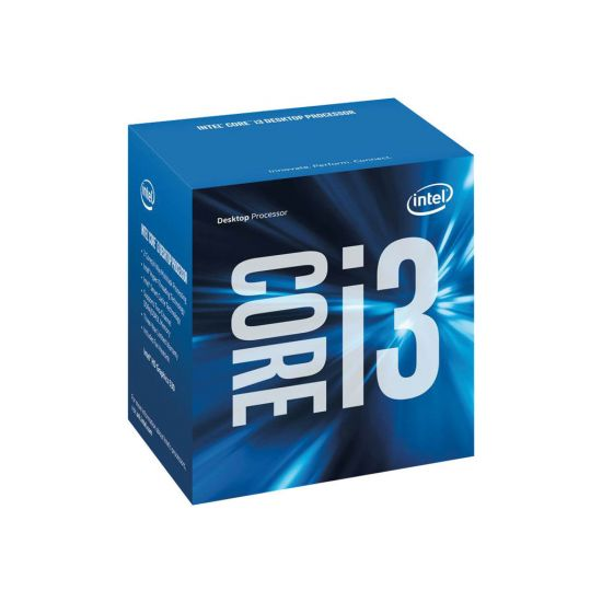 Intel Core i3 6300 (6. Gen) - 3.8 GHz Processor - Dual-Core med 4 tråde - 4 mb cache