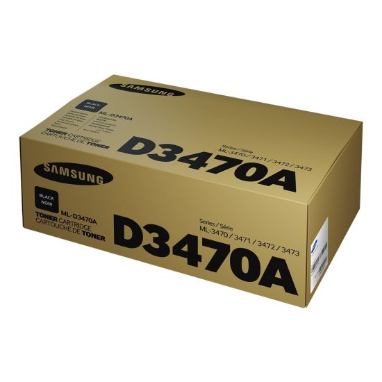 Samsung ML-D3470A - Højtydende - sort - original - tonerpatron (SU667A)