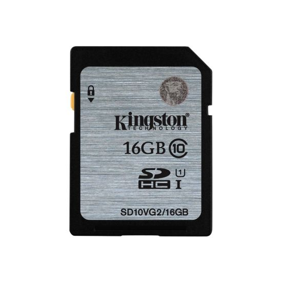Kingston - flashhukommelseskort - 16 GB - SDHC UHS-I