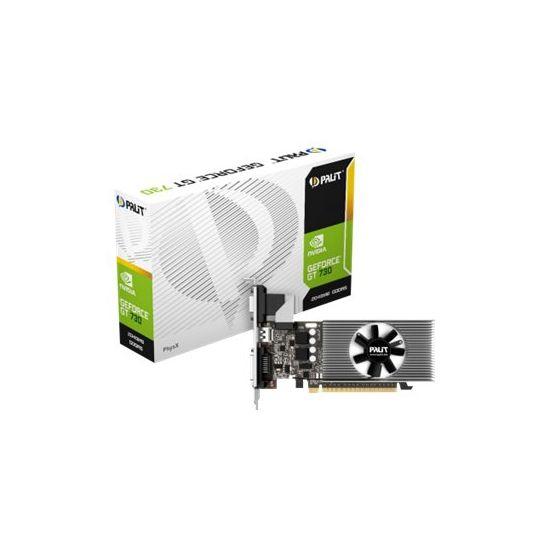 Palit GeForce GT 730 - grafikkort - GF GT 730 - 2 GB