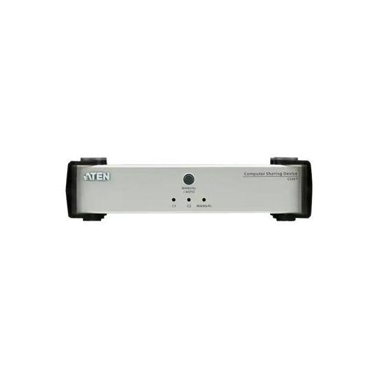 ATEN Computer Sharing Device CS261 - KVM / audio-switch - 1 porte