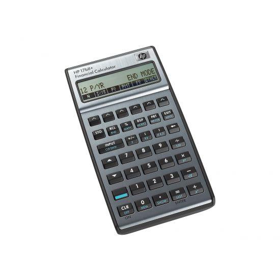 HP 17bII+ - finansiel regnemaskine