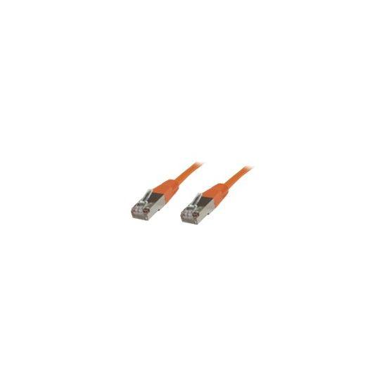 MicroConnect netværkskabel - 7 m - orange