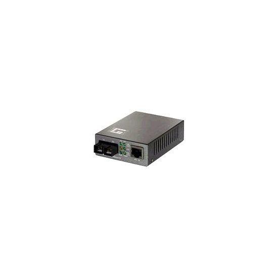 LevelOne Procon FVT-0103TXFC - fibermedieomformer - 10Mb LAN, 100Mb LAN