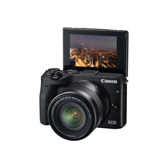 Canon EOS M3 - digitalkamera - kun kamerahus
