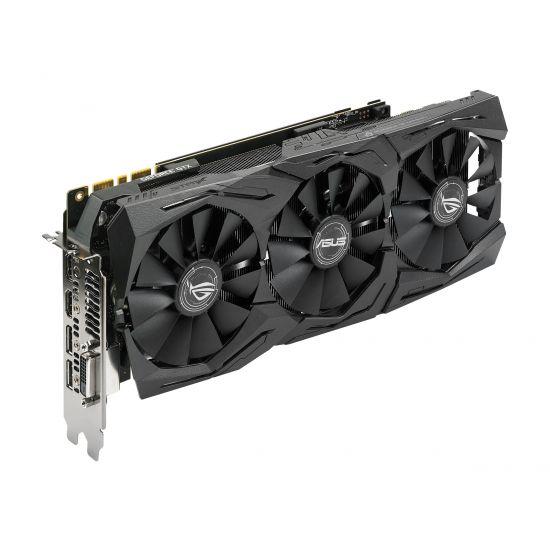 ASUS ROG-STRIX-GTX1080TI-O11G-GAMING &#45 NVIDIA GTX1080Ti &#45 11GB GDDR5X - PCI Express 3.0 x16