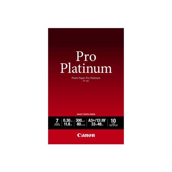 Canon Photo Paper Pro Platinum - fotopapir - 10 ark - A3 Plus - 300 g/m²