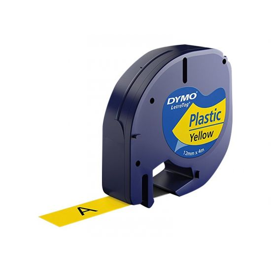 DYMO LetraTAG Starter Pack - etikette tape sæt - 3 rulle(r) - Rulle (1,2 cm x 4 m)