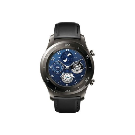 Huawei Watch 2 Classic - titaniumgrå - smart ur med rem - 4 GB