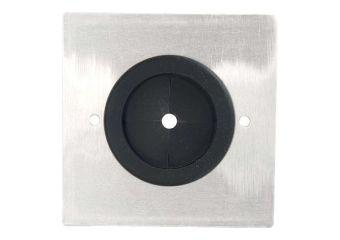 C2G RapidRun Single Gang 3.81cm Grommet Wall Plate
