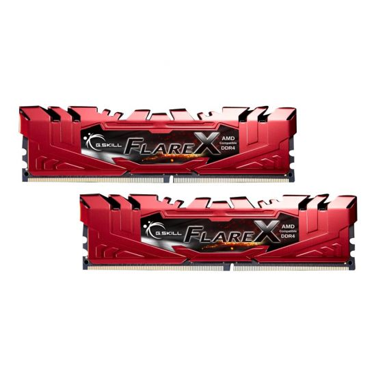 G.Skill Flare X series &#45 16GB: 2x8GB &#45 DDR4 &#45 2400MHz &#45 DIMM 288-PIN - CL15