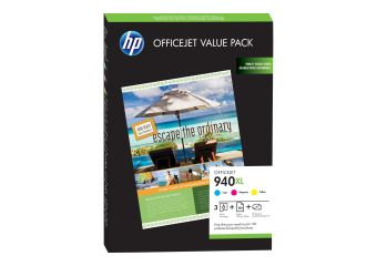 HP 940XL Officejet Brochure Value Pack