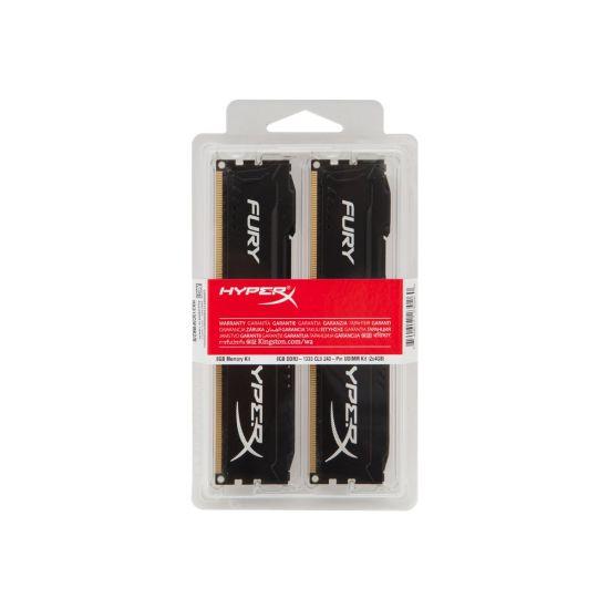 HyperX FURY &#45 8GB: 2x4GB &#45 DDR3 &#45 1866MHz &#45 DIMM 240-pin