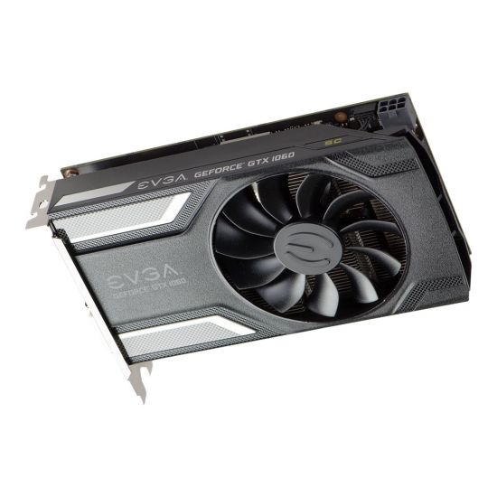 EVGA GeForce GTX 1060 SC Gaming &#45 NVIDIA GTX1060 &#45 6GB GDDR5 - PCI Express 3.0 x16